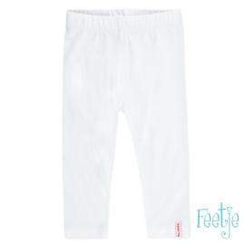 Witte legging Feetje