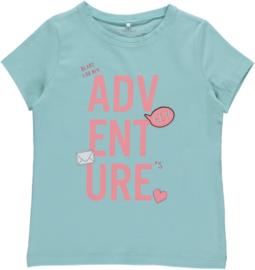 Aqua shirt Name it
