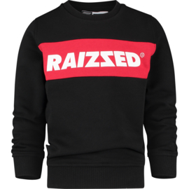 "Zwarte sweater ""Novato"" Raizzed NIEUWE COLLECTIE"