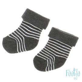 Grijze sweater Feetje