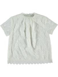 Wit shirt met kant Name it