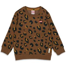 Bruine Sweater Sturdy NIEUWE COLLECTIE