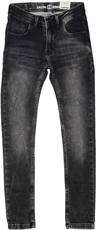 "Antraciet spijkerbroek ""Joglia"" Crush Denim"