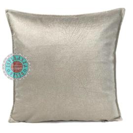 Velvet kussen Off white (1014) ± 45x45cm
