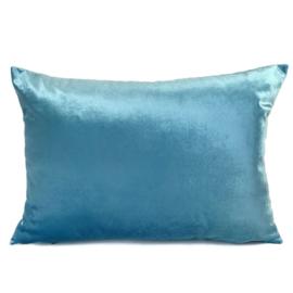 Esperanza Deseo ® kussen - Velvet, turquoise ± 50x70cm