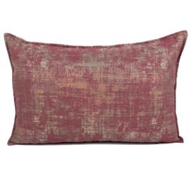 Sierkussen Industrieel roze ± 40x60cm