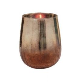 Glazen windlicht Sprankle 18 cm PTMD