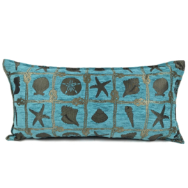 Esperanza Deseo ® kussen - Beach, turquoise ± 30x60cm