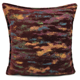 Sierkussen Exclusive Art collection burgundy Abstract ± 45x45cm