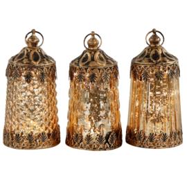 Set van 3 led lampjes Samarkant 6,5x14cm