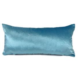 Esperanza Deseo ® kussen - Velvet, turquoise ± 30x60cm