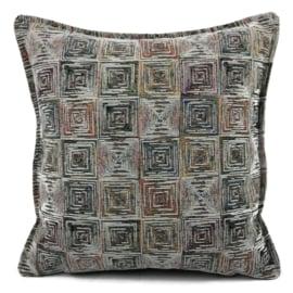 Sierkussen Exclusive Art collection cremé square ± 45x45cm