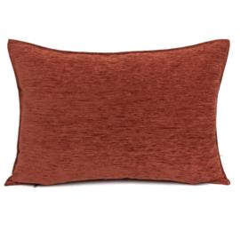 Brick oranje kussen ± 50x70cm