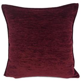 Bordeaux kussen ± 45x45cm (passend bij kelim)