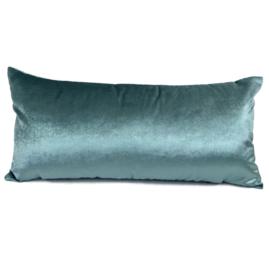 Esperanza Deseo ® kussen - Velvet, jade groen ± 30x60cm
