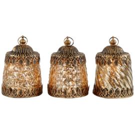 Set van 3 led lampjes Samarkant 9x13cm