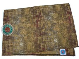 Tafelloper Industrieel okergeel ± 45x140cm