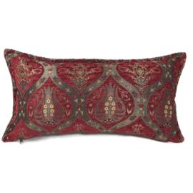 Rood kussen - Tulip ± 30x60cm