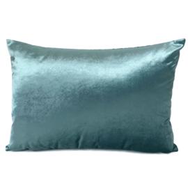 Esperanza Deseo ® kussen - Velvet, jade groen ± 50x70cm