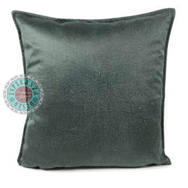 Velvet kussen Jade groen (1011) ± 45x45cm