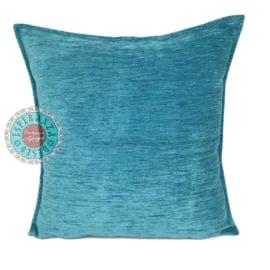 Turquoise kussen ± 45x45cm