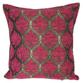 Hard roze kussen - Honingraat ± 45x45cm