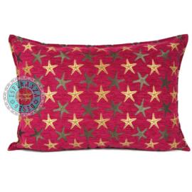 Hard roze kussen - Starfish ± 50x70cm