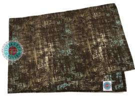 Tafelloper Industrieel bruin ± 45x140cm