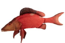 Kussen in de vorm van een vis (J-Line) 93cm lang!
