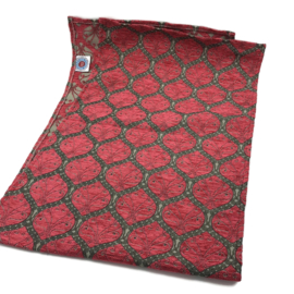 Tafelloper 45x140cm - Honingraat zuurstok roze