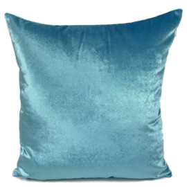 Esperanza Deseo ® kussen - Velvet, turquoise ± 45x45cm