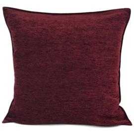 Bordeaux kussen ± 70x70cm (passend bij kelim)