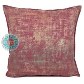 Sierkussen Industrieel roze ± 50x50cm