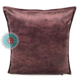 Velvet kussen mauve paars (6005) ± 45x45cm