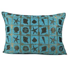 Esperanza Deseo ® kussen - Beach, turquoise ± 50x70cm