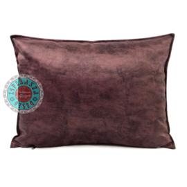 Velvet kussen mauve paars (6005) ± 50x70cm