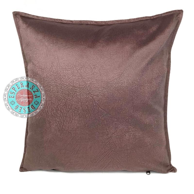 Velvet kussen Mauve paars (1007) ± 45x45cm