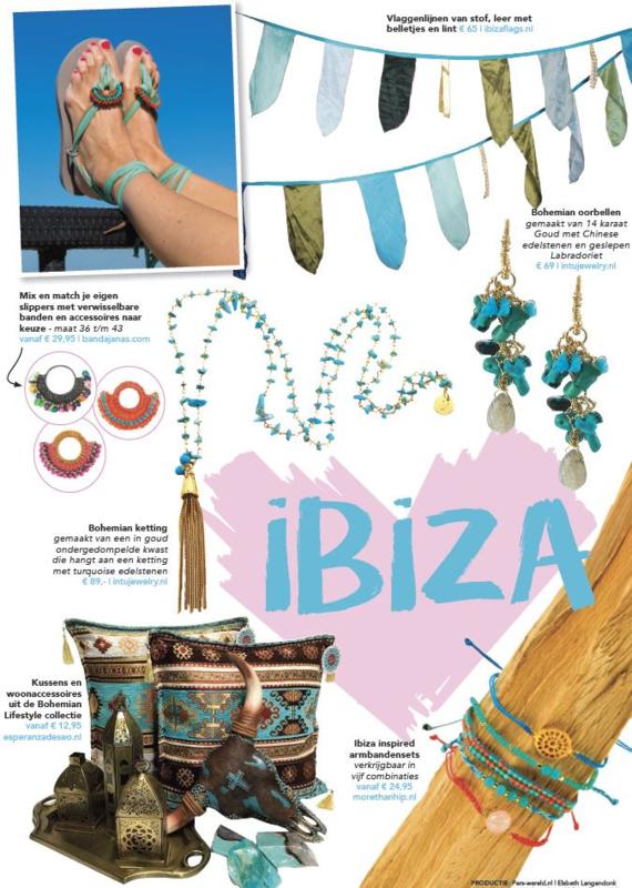 Shoppingspecial Perswereld thema IBIZA