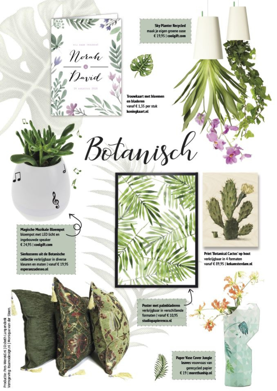 Shoppingspecial Perswereld thema BOTANISCH