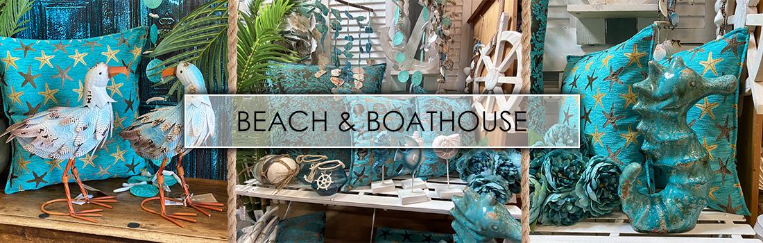 Beach & Boathouse woonstijl