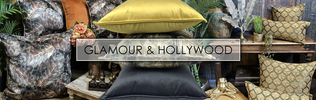 Glamour & Hollywood woonstijl