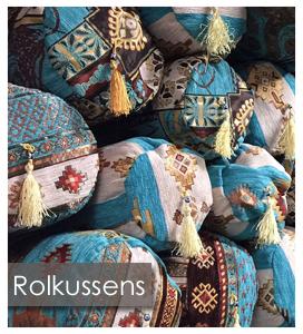 Rolkussens turquoise - Eseperanza Deseo -