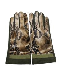 Dames handschoen groen