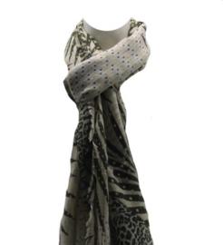 Dames sjaal beige
