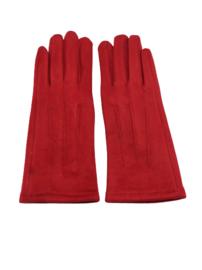 Dames handschoen rood