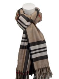 Dames sjaal bruin