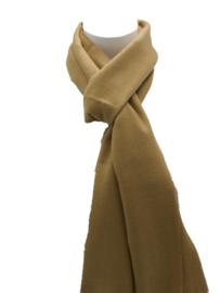 Effen sjaal bruin