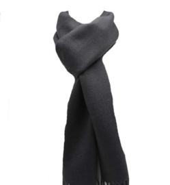 Effen sjaal grijs