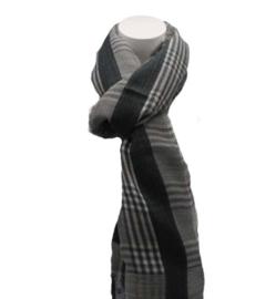 Dames sjaal grijs