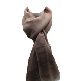Sterren sjaal roze